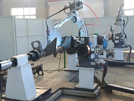 义和车桥焊接机器人