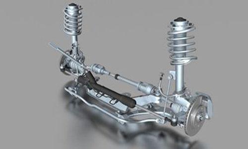 汽车减震装置设计