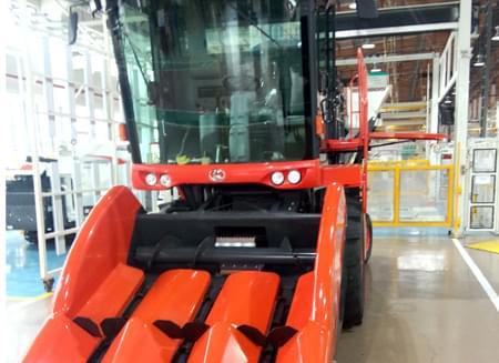 久保田农业机械应用配套驱动桥案例