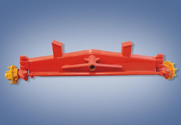 3.5吨固定式玉米机转向桥YP4.48.1