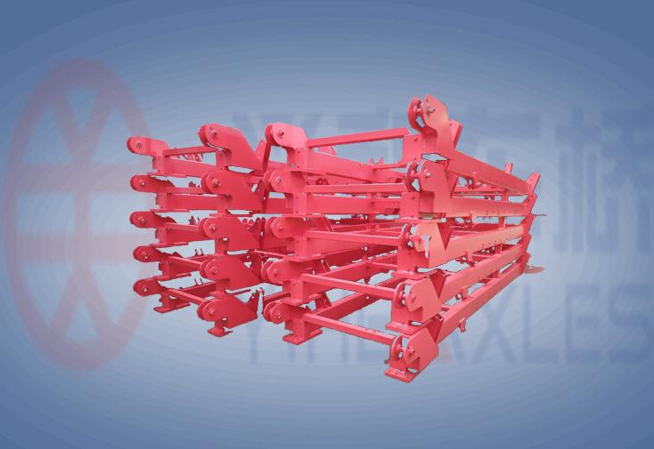 采棉机 3-6行 底盘焊接件